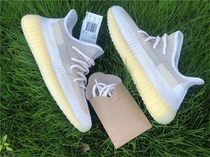 Otantik Originals V2 Abez FZ5246 Erkekler Kadınlar Ayakkabı 3M Yansıtıcı Kanye West 2020 Yayın Dalga Runner Eğitmenler Sneakers ile Kutu Running