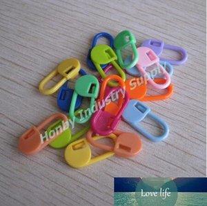 Confezione da 1000 pezzi colorati 22 millimetri di plastica di sicurezza Pin Knitting Stitch conteggio Marcatori trasporto libero