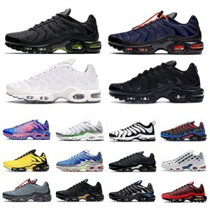 Nike air max Plus TN Neueste All Over Print TN Plus se Mensschuhe Fade Phantom Trainer OG triple schwarz weiß Rock-Pebbles Männer Outdoor-Sport Turnschuhe laufen