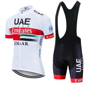 şort nefes hızlı kuru erkekler set önlük Jersey bisiklet Gömlek bisiklet yaz 2021 BAE Pro Takım spor Y030801 yarış bisiklet giysileri MTB