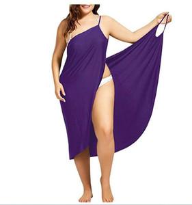 Femmes Robes de plage Sling Sexy Designer Summer Dress Fashion Plus Size Maillots de bain Femme Serviette Backless Vêtements