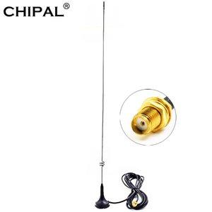 Chipal UT-108UV SMA-F coche antena magnética de soporte de doble banda UHF / VHF 144 / 430MHz GSM para Baofeng UV5RA / Plus UV5RE / Plus UV5RB UV5RC