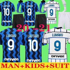 costume adulte 20 21 Lukaku ALEXIS camisa de futebol Inter Milan 2020 Milan 2021 LAUTARO Škriniar 19 20 inter costume adulte milan jersey ENFANTS