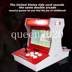 급속도 고스트 아케이드 레트로 클래식 게임 콘솔 아케이드 기계 듀얼 플레이어 1388 게임 DHL