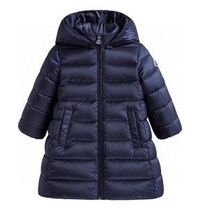 2020 nouvelle haut de gamme d'hiver garçons filles Vestes enfant enfants chaud épais parkas à capuchon Manteaux Bébés filles longues Outwear Vêtements Vestes coupe-vent