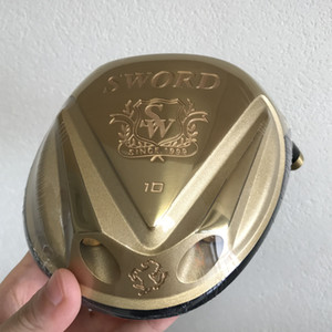 KATANA Hallo COR Golf Fahrer-Kopf 10 / 11,5 Grad Gold Titan Drivers Marke Golfschläger Männer Frauen (Nur der Kopf, ohne Schaft und Griff)