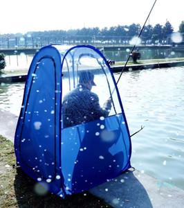Vente en gros-plein air Pêche antipluie personne seule isolation privée soleil ombre regarder les sports pop-up tente / garder au chaud pop-up PVC portable