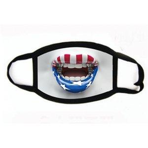 Anti-pó reutilizável lavável Cotton Mouth Máscara em Er estoque! Expedição face Designer Máscara # 611