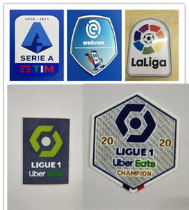 20 21 Ligue 1 soccer patches football patch 2020 2021 good quality shoulder flocking stickers stamping armbands printed armlets