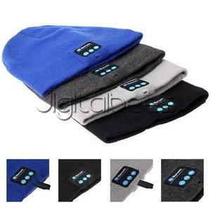 Bluetooth Beanie Soft Warm Music Cap Stereo Wireless Hat Headphone Headset Speaker Microphone Handfree For Iphone 7 Plus For Samusng S7 Edge