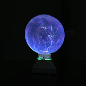 2018 USB Ball Electrostatic Plasma Sphere Office Crystal Magic Ball Lamp Christmas Touch Sensitive Lights