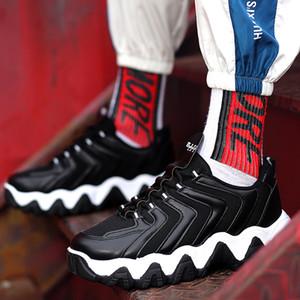 2020 New Big Wave Chaussures Bas concepteur Hommes Old Shoes Nouvelle marque de mode chaussures de papa Augmentation Sneakers Casual augmenté respirant équilibré