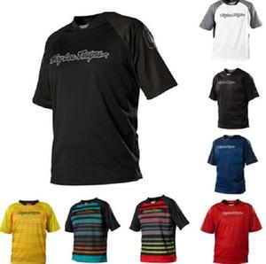 2020 nuevo traje de poliéster de carreras TLD descenso de manga corta camiseta de la motocicleta de secado rápido se puede personalizar