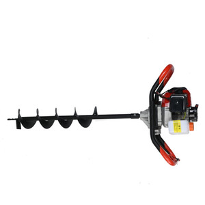 Ground drill Auger Digger Twist Spiral Bit Digging Holes Drill Bit Tools Electric Drill Garden Flower Plant Farm Planting