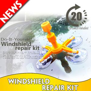 Pare-brise Fix Tool Set verre pare-brise réparation de pare-brise Kit de réparation de verre outil de réparation de la fenêtre Set de polissage