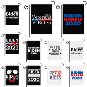 Biden Harris 2020 Garden Flagge US-General Election Garten Flag Supplies Biden für Präsidenten-30 * 45cm Kampagne Flag Yard Sign