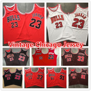 23 Michael MJ Mens Red Throwback Vintage Chicago