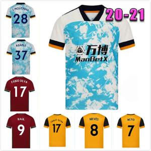 2021 Lupi maglie di calcio SEMEDO RAUL NETO 20 21 Wanderers J.OTTO Podence Wolverhampton calcio camice ADAMA Mens bambini Kit Uniforme