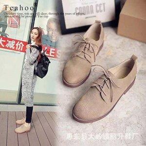 Mit Box Frau Pantoffel Schuh Sandalen aus echtem Leder-Qualitäts-Hausschuh Mode Scuffs Hausschuhe Freizeitschuhe freien DHL-02PX811