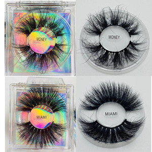 Hot sell fluffy natural 5d 100% real mink lashes 6d faux mink lashes high quality wholesale luxury 3d mink eyelashes