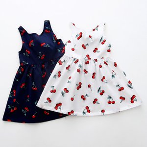 Excelent Clearance New summer babys Dress Toddler Girls Summer Princess Dress Kids Baby Party Wedding Sleeveless Dresses Z0207