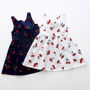 Excelent Clearance New summer babys Dress Toddler Girls Summer Princess Dress Kids Baby Party Wedding Sleeveless Dresses Z0207