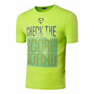 Esporte camiseta T-shirt T-shirt Correndo Workout dos homens jeansian Gym Fitness Moda manga curta LSL198 GreenYellow2 rNDV #