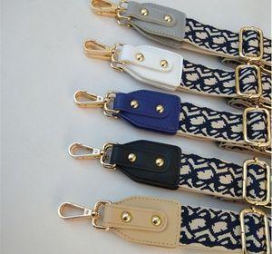 Gedruckt verstellbarer Riemen Handtasche Gürtel Breite Schultertasche Strap Ersatzband Zubehörtasche Teil verstellbare Gürtel