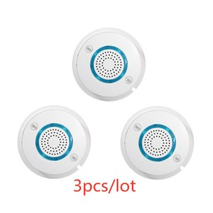 3pcs lot PGST High Quality WIFI Independent Alarm Smoke Detector SIM Card SMS Auto Smoke Fire Sensitive Sensor for House Alarm