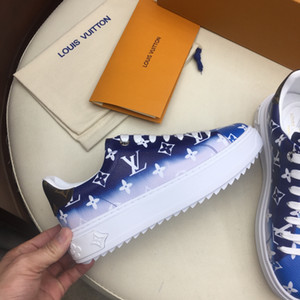 Adicionar qualidade boxhigh moda feminina sapatos casuais pé usa Esporte de luxo confortável mulheres sapatos de couro ESCALE TIME OUT Sapatilha com caixa a05