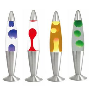 UK Cute Lava Lamp Decorative Lamp Jellyfish Light Low Consumption High Brightness Bedroom Bedside Aluminium Alloy