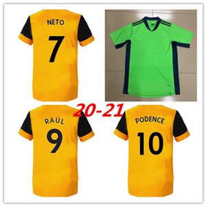 Wolves thailandesi 9 Raul Wolverhampt Cutrone RAUL NEVES 2020 Jersey Wanderers Football Set DIOGO J. uniformi UOMO Nuovi 19 20 Top
