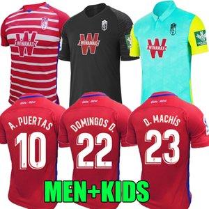 20 21 غرناطة لكرة القدم بالقميص المنزل بعيدا الثالث سورو سولدادو VALLEJO 2020 2021 أنتونيو بويرتا فاديلو camiseta دي فوتبول قمصان كرة القدم