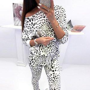 Kadın 2PCS CamouflageTracksuits Casual Süper Yumuşak Lounge Giyim Bayan Üst Takım Elbise Pantolon Streetwear Bayan Giyim Artı boyutu ayarlar