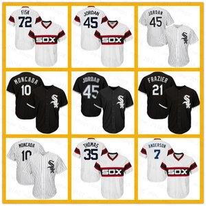 White Sox Jersey 45 Michael 74 Eloy Jimenez 8 Bo Jackson 10 Yoan Moncada 79 Jose Abreu 7 Tim Anderson 35 Frank Thomas 21 Todd Frazier