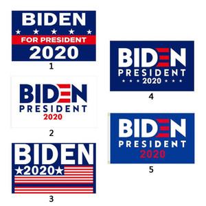 Joe Biden 2020 Lettre Drapeau Élection Soutien Opposez Joe Biden Président États-Unis 90 * 150cm Drapeaux Bannière Big Hanging Garden Deco DHL FEDEX gratuit