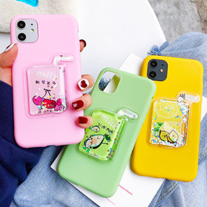 Fashion 3D Avocado Fruit phone case for iPhone 11Pro X XS Max XR 7 8 Plus 11 Pro Max Soft TPU Cartoon Cover