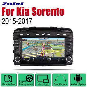Auto DVD Player GPS Navigation For Kia Sorento Prime KX7 2020 2020 Car Android Multimedia System Screen Radio Stereo car dvd