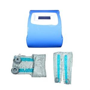 4 in 1 Pressotherapie Maschine Heizung + Luftdruck + Infrarot + Heizung Far Infrared Boots Pressotherapy Lymp Drainage dünne Luft Pressotherapy