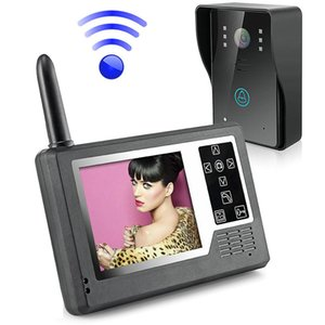 "MOUNTAINONE 3,5"" TFT Color Display Wireless vídeo interfone campainha porta Phone System Intercom"