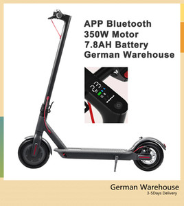 2020 il nuovo disegno del motorino elettrico D8 350w 36v 8.5inch Max 25 kmh M365 impermeabile E-bike con In Scooter Bluetooth APPS astuta pieghevole della