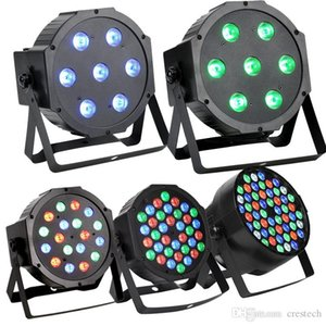 36 LED RGBW Stage Light Crystal Magic Ball Par Effect Disco DJ Bar Effect UP Lighting for Disco DJ Party Wedding Club Show