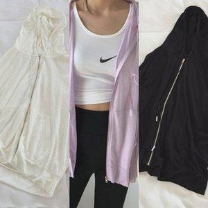 drQkR vêtements pour les femmes Sunscreen 2020 été nouveaux vêtements de protection solaire pull-over respirant coréenne taille longue épreuve UV grand ultra-mince sl yyoIr