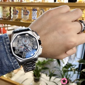 09 All Subdials Work Hot Mens Watches Stainless Steel Quartz ap Wristwatches Stopwatch Luxury Watch