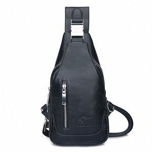 Breast Package Mens Bag USB Bag Male Motion Men Xie Kua Bao Male Leisure Breast Package Gun Xie Bei Bao Hiking Backpack Duffel Bags Fr xRW0#