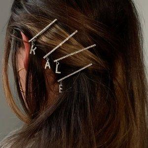 Accessoires Creative 26 lettre anglaise Accessoires cheveux clip Anglais lettre en épingle à cheveux de femmes coréennes ins des femmes de cheveux de la mode créative