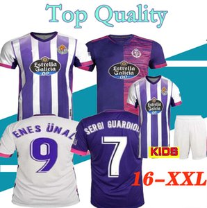 2020 2021 Real Valladolid Soccer Jerseys 20 21 Oscar Plano JAVI MOYANO SERGI GUARDIOLA home away football men and kids shirt