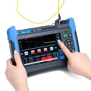 광섬유 장비 Orientek K70 OTDR SM 1310 / 1550nm 32 / 30dB opm vfl, 광 시간 도메인 반사 계, 단일 모드