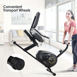 Multifunctional Weight Benches Recumbent Exercise Bike with 8-Level Resistance, Bluetooth Monitor 380lb Weight Capacity US STOCK MS193107BAA
