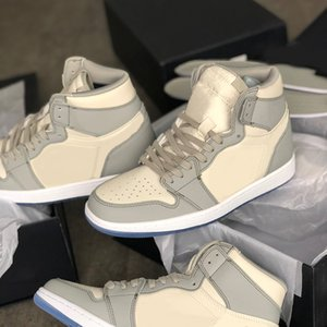New High OG 1s Chaussures de basket-ball Ice Blue desingers haute top culture sauvage occasionnels Sneakers Jump Sport Chaussures avec la boîte